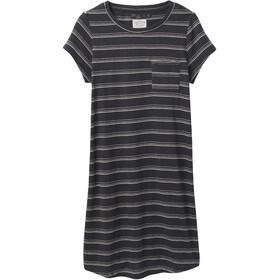 Prana Elana Cozy Up Dress Women, negro/blanco
